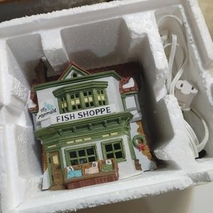 Dickens Collectibles Vintage Mermaid Fish Shoppe